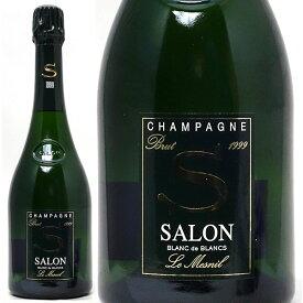 [1999] サロン ブラン ド ブラン ブリュット 箱なし 並行品 750ml(シャンパン フランス シャンパーニュ)白泡 コク辛口 ワイン ^VASO0699^