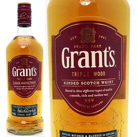 グランツ トリプルウッド (ファミリー リザーブ) 40度 700ml正規品 スコッチウイスキー ブレンデッド ^YCGTTWJ0^