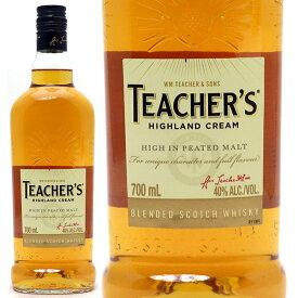 ティーチャーズ ハイランドクリーム 40度 700ml正規品 スコッチウイスキー ^YCTCCMJ0^