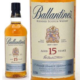 バランタイン 15年 40度 700ml 箱なし並行品 玉付きボトルスコッチウイスキー ^YCBT16J0^