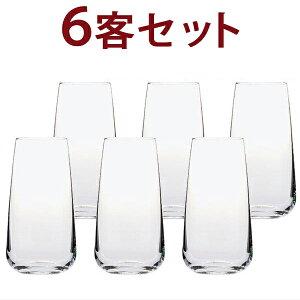○ V09 6客セット 1客あたり538円税込 G&C ビール/ジュース ヴィノフィル09 ノンレッド クリスタル 6客セット グラス ワイン ^ZCGCV066^