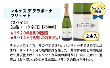 [B]ワインワインセットすべて本格シャンパン製法の極上辛口泡12本セット送料無料スパークリング(6種類各2本)飲み比べセットギフトチラシB^W0AC24SE^