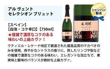 [G]ワインワインセット極上フルコース赤白泡6本セット送料無料(赤2本、白2本、泡2本)飲み比べセットギフトチラシG^W0XP71SE^