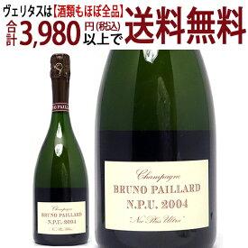 [2004] エクストラ ブリュット エヌ ピー ユー. ネック プラス ウルトラ 750mlブルーノ パイヤール(シャンパン フランス シャンパーニュ)白泡 コク辛口 ワイン ^VABP42A4^