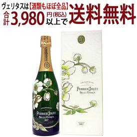 ペリエ ジュエ [2007] キュヴェ ベル エポック ギフト箱付 並行品 750mlペリエ・ジュエ(シャンパン フランス シャンパーニュ)白泡 コク辛口 ワイン ^VAPJ55A7^