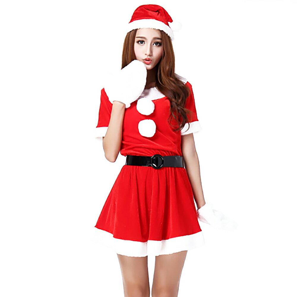 Veroman クリスマス サンタ コスプレ 衣装 ロング丈 80cm 4点セット 大きいサイズ