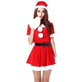 42c0142b28df4 Veroman クリスマス サンタ コスプレ 衣装 ロング丈 80cm 4点セット 大きいサイズ
