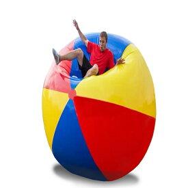 VeroMan 超巨大 ジャイアント ビーチボール 150cm インフレータブル 海 プール ビーチ バレー マリンスポーツ