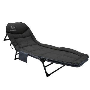 VeroMan 折りたたみベッド アウトドア ベッド キャンプコット 調整可能 軽量 組み立て簡単 室内 アウトドア 耐荷重 200kg