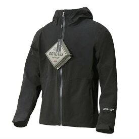 VeroMan メンズ レディース ゴアテックス ジャケット マウンテンパーカー アウトドア 釣り フィッシング 登山 ウェア アウター GORE TEX 防水 ブラック