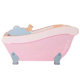 VeroMan キャット爪とぎ バスタブ型 猫おもちゃ 耐久ダンボール ひよこ付き お風呂型