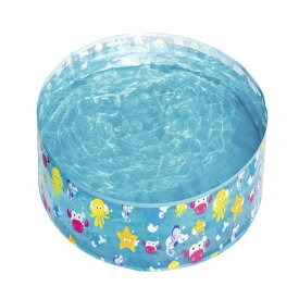 VeroMan 子供用 プール 広げて水を入れるだけ 簡単設置 水遊び 庭 直径122cm × 高さ25cm