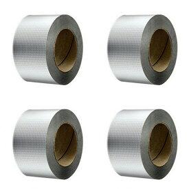 [15cm×10M 4個セット] VeroMan 防水テープ 補修テープ ブチルテープ 粘着テープ ダクトテープ 防水 耐熱 配管 水漏れ 屋外対応 多用途