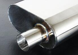センスブランド 200クラウン リアピースマフラー 平型サイレンサー 静か目 純正フィニッシャー対応