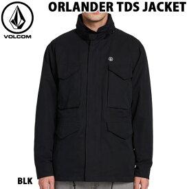 ジャケット 綿入り 19-20 VOLCOM ボルコム ORLANDER TDS JACKET オーランドティーディーエス スタイリッシュ 暖か USサイズ あす楽