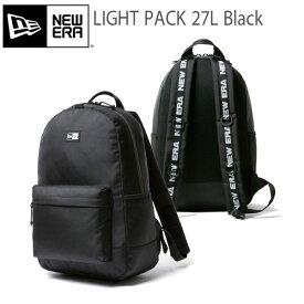 バックパック ニューエラ NEW ERA LIGHT PACK 1680D 2 30×46×23 約27L リュックサック ブラック あす楽