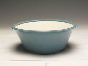 中国均窯ソリ型丸盆栽鉢