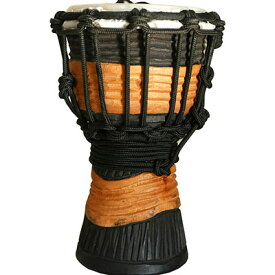SYNERGY MINI DJEMBE 4 in BRN/BKSDMINI-BWOOD ROPE TUNED DJEMBES