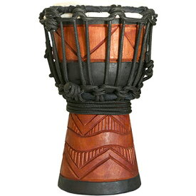 SYNERGY MINI DJEMBE 4 in DIAMONDSDMINI-DWOOD ROPE TUNED DJEMBES