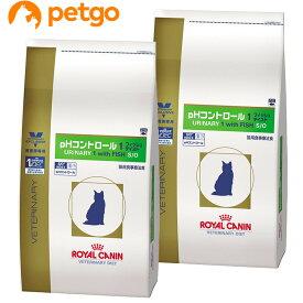 【2袋セット】ロイヤルカナン 食事療法食 猫用 pHコントロール1 フィッシュテイスト ドライ 4kg【あす楽】