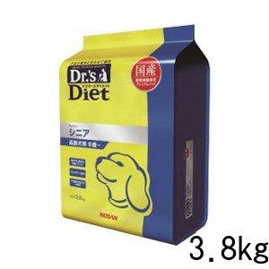 ドクターズダイエット シニア ドライ 犬用 3.8kg 国産 高齢犬 プレミアムフード ドッグフード 総合栄養食 ペット