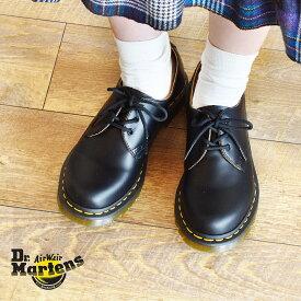 【週末限定SALE】ドクターマーチン 1461 ギブソン 3ホール シューズ DR.MARTENS レディース 3HOLE GIBSON 11837002 レザー カジュアル 靴 短靴 マーチン ブランド 天然皮革 革 本革 おしゃれ 売れ筋 人気 黒 ブラック かわいい