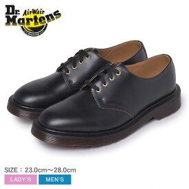 ドクターマーチン シューズ メンズ レディース DR.MARTENS SMITHS ユニセックス ブランド レースアップ カジュアル ヴィンテージ ビンテージ レトロ ビジネス フォーマル シンプル 靴 本革 レザー 人気 おしゃれ ブラック 黒 16056001 [SALE]クーポンで割引