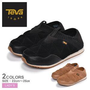 テバ スリッポン TEVA エンバーモック シェアリング EMBER MOC SHEARLING 1103271 レディース 靴 シューズ スニーカー カジュアルシューズ ローカット カジュアル アウトドア レジャー 黒 ブラック キ