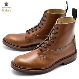 《2,000円クーポン対象 1/28 9:59迄》トリッカーズ ブーツ TRICKERS バーフォード BURFORD 5635/5 ブーツ レザー 革靴 ブラウン メンズ ワークブーツ 紳士靴 おしゃれ イギリス 高級 ブランド ドレスブーツ