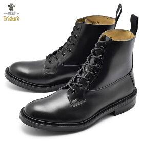 【限定クーポン配布中!】トリッカーズ ブーツ TRICKERS バーフォード BURFORD 5635/6 ドレスブーツ メンズ 黒 レザー 革靴 イギリス 高級 紳士 ブランド ブラック