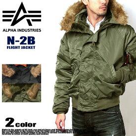 【アルファ インダストリーズ】ALPHA INDUSTRIES メンズ アウター 防寒 ジャケット コート フライトジャケット N-2B FLIGHT JACKET MJN30000C1