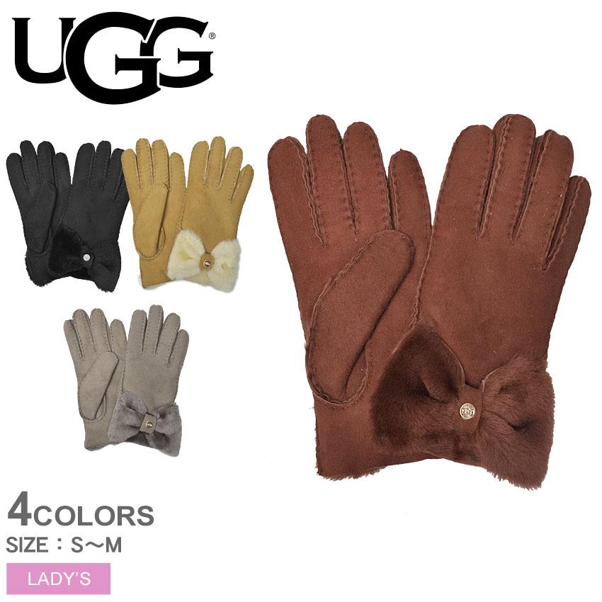 【メール便可】 【UGG】 アグ 手袋 リボン レディース グローブボウ ショーティグローブ BOW SHORTY GLOVE 17368 送料無料