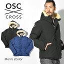 《スーパーSALE!!》【OSC CROSS】 オーエスシークロス ダウンジャケット メンズ アウター ボーモント BEAUMONT M41CX フード ボア シンプル 人気 ブランド 防寒 ミリタリー
