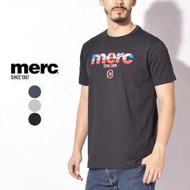 【メール便可】 メルクロンドン Tシャツ MERC 半袖 BROADWELL T-SHIRT 1709210 メンズ 夏 服 トップス ユニオンジャック イギリス ブランド ロゴ ブリティッシュ 父の日 プレゼント カジュアル