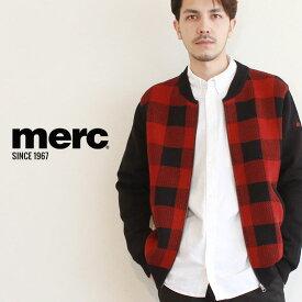 メルクロンドン ジャケット MERC ブラック APLLO アポロ 1619208 メンズ アウター ウェア トップス シンプル ブランド プレゼント ギフト 定番 クラシカル ポケット ボタン 上着 羽織り チェック カジュアル 黒 ガーディガン 赤 [SALE]クーポンで割引