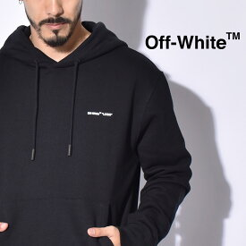 【OFF-WHITE】 オフホワイト スウェット ブラック ロゴ スリム フーディー 長袖 トップス 服 LOGO SLIM HOODIE OMBB034S19D2 メンズ ブランド 高級 カジュアル ストリート パーカー スウェット シンプル おしゃれ 黒 バレンタイン