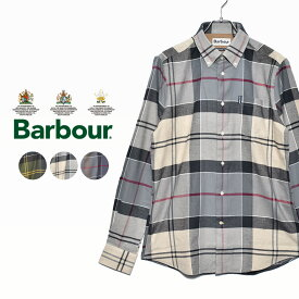 【BARBOUR】 バブアー 長袖シャツ ステープルトン シャツ MSH3235 メンズ バブアー ブランド チェック シャツ 長袖 襟付き トップス シンプル カジュアル 上品 大人 クラシック クラシカル 綿 長袖 タータン バーブァー プレゼント 贈り物 ボタンダウン