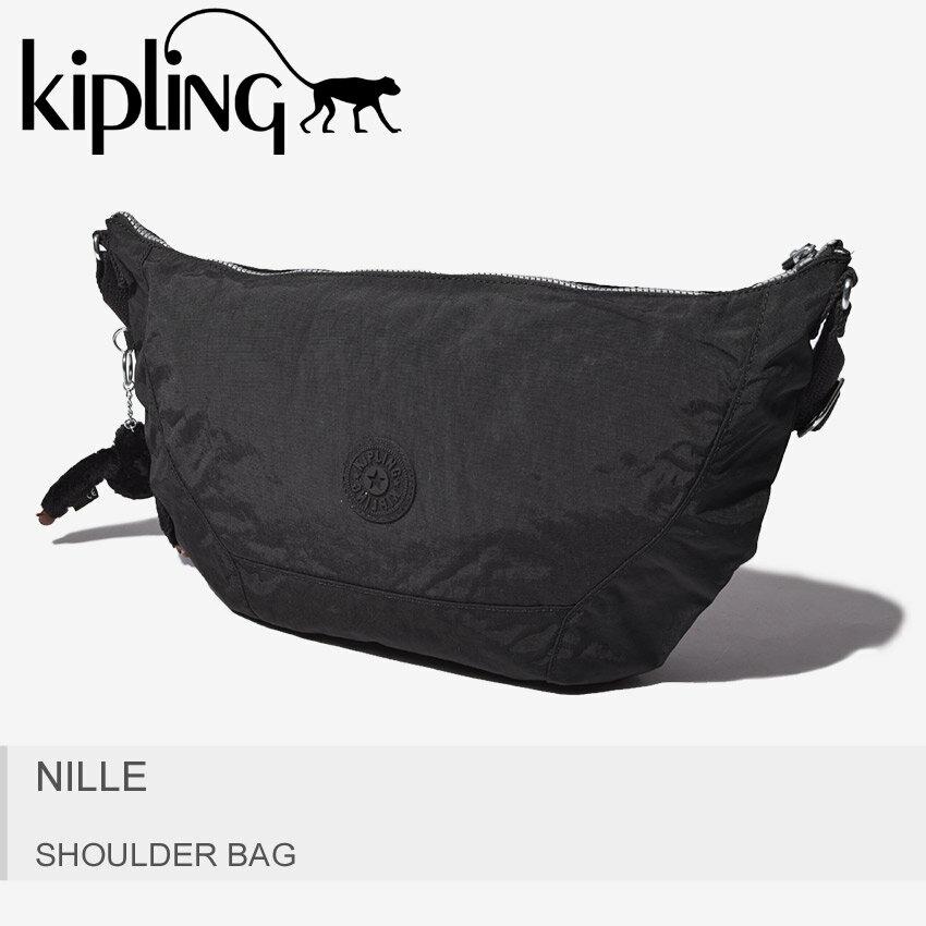 送料無料 KIPLING キプリング ショルダーバッグ ブラックナイル NILLEK11358 900 レディース
