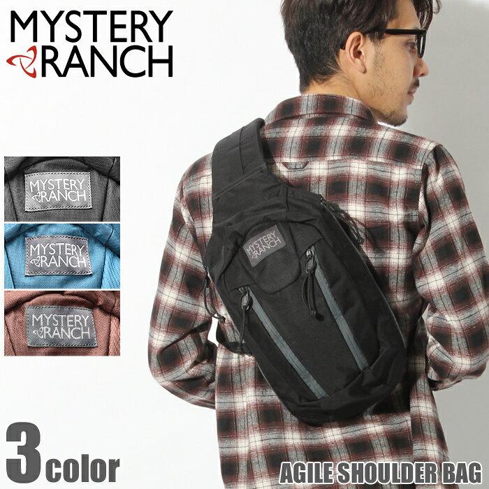送料無料 MYSTERY RANCH ミステリーランチ ボディバッグ アジャイル ショルダーバッグ ブラック 他全3色AGILE SHOULDER BAG鞄 バック リュック 肩掛け アウトドアメンズ(男性用) 兼 レディース(女性用)