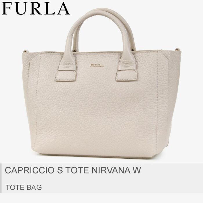 送料無料 FURLA フルラ トートバッグ ヴァニーリアカプリッチョ S CAPRICCIO S TOTE NIRVANA W 920220 レディース