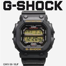 【お取り寄せ商品】 G-SHOCK ジーショック CASIO カシオ 腕時計 ブラック ジーエックスシリーズ GX SERIES GXW-56-1BJF メンズ 【メーカー正規保証1年】