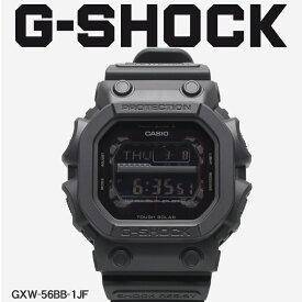 【お取り寄せ商品】 G-SHOCK ジーショック CASIO カシオ 腕時計 ブラック GXW-56 GXW-56BB-1JF メンズ 【メーカー正規保証1年】