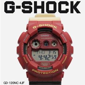 【お取り寄せ商品】 G-SHOCK ジーショック CASIO カシオ 腕時計 レッド GD-120 GD-120NC-4JF メンズ 【メーカー正規保証1年】