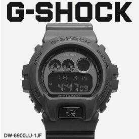 【お取り寄せ商品】 G-SHOCK ジーショック CASIO カシオ 腕時計 ブラック DW-6900 DW-6900LU-1JF メンズ 【メーカー正規保証1年】