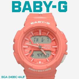 【お取り寄せ商品】 G-SHOCK ジーショック BABY-G ベビージー CASIO カシオ 腕時計 ピンク フォーランニングシリーズ FOR RUNNING SERIES BGA-240BC-4AJF レディース 【メーカー正規保証1年】