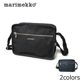 マリメッコ MARIMEKKO ショルダーバッグ 斜めがけ キャンバス バッグ CITY BAG 全2色 37797 001 002 レディース(女性用) 鞄 バッグ 無地 肩掛け シティ