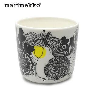 マリメッコ マグカップ MARIMEKKO シイルトラプータルハ コーヒーカップ 200ml ラテマグ キッチン 食器 コップ 陶器 北欧柄 雑貨 ギフト ホワイトデー