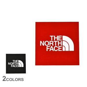 クーポンで割引★ザ ノースフェイス ステッカー THE NORTH FACE TNF スクエアロゴステッカー ミニ 雑貨 おしゃれ ブランド おしゃれ シール ロゴ アレンジ シール ブラック 黒 レッド 赤 NN32015 TNF S