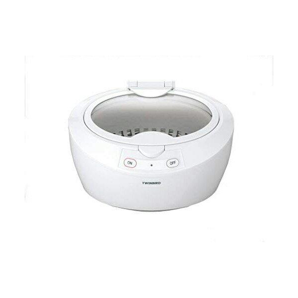【あす楽】超音波洗浄器 TWINBIRD ツインバード EC-4518W ホワイト 超音波の力で隅々まですっきり洗浄