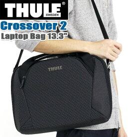 """ビジネスバッグ THULE スーリー ブリーフケース 正規品 ショルダー トート 手持ち 丈夫 13.3インチ PC収納 タブレット 頑丈 丈夫 メンズ 男性 ビジネス 仕事 機能的 斜め掛け 通勤 通勤用 都会派 キャリーオン A4 Thule Crossover 2 Laptop Bag 13.3"""" C2LB-113"""